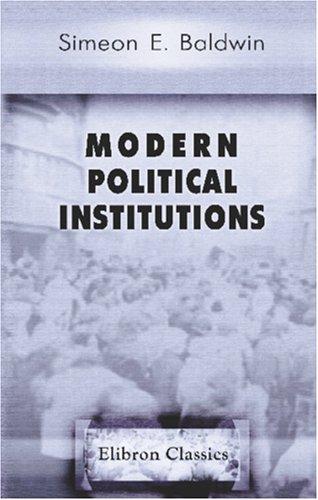 Modern Political Institutions PDF