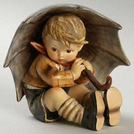 Hummel Umbrella Boy No Box, Collectible - 8157901