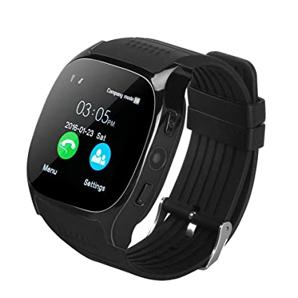 Amazon.com: LIU551 Bluetooth Smart Watch Support SIM TF Card ...