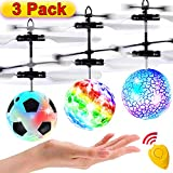 3 Pack Flying Ball Kids Toys RC Flying Toys Hand