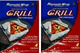 reynolds hot bags - Reynolds Wrap Extra Heavy Duty Foil Grill & Oven Bags, 4 Count (Pack of 2)