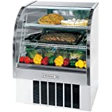 Beverage Air CDR4/1-W-20 49 Refrigerated Deli Curved Glass Display Case in White