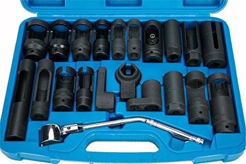 8MILELAKE 21pcs Oxygen Sensor Socket Set Sensor Oil Pressure Sending Unit Socket Set by 8MILELAKE (Image #6)