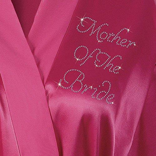 personalizzabile con matrimonio The miele Bride rosa di Mother luna strass Of vestaglia colore da wqO6OSC