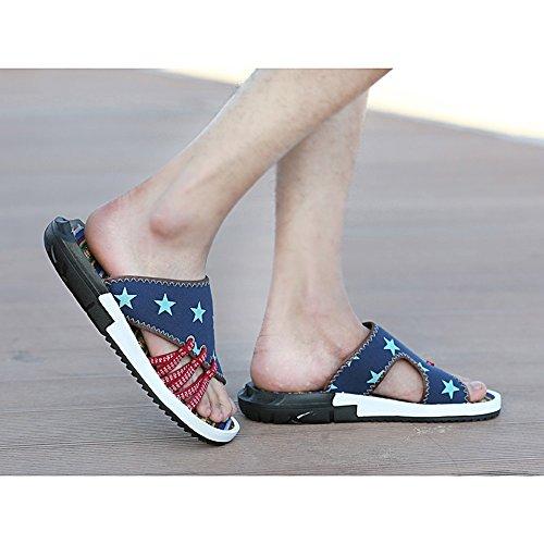 Scarpe 3 5 Pantofole Uomo Scarpe EU42 Spiaggia UK8 Scarpe Antiscivolo Casual Festa Da 2 Sandali dimensioni Estate Colore Accogliente Da Personalizzate Moda Maschili YQQ Scarpe Da 6wvqSxRR