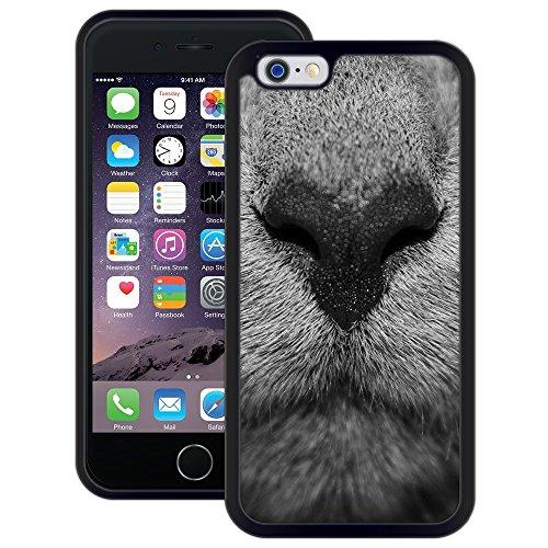 Tier Snout | Handgefertigt | iPhone 6 6s (4,7') | Schwarze Hülle
