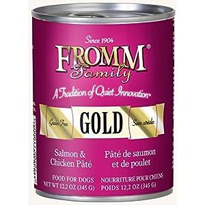 Fromm Gold Salmon & Chicken Pâté 12.2oz / case of 12