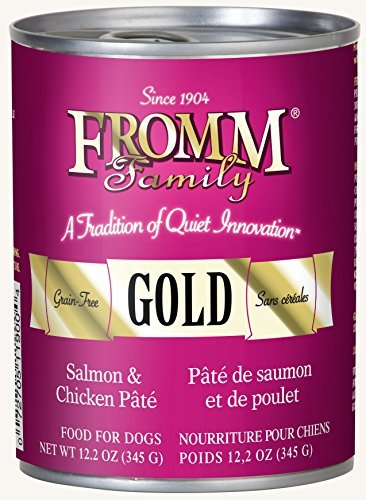 - Fromm Gold Salmon & Chicken Pâté 12.2oz / case of 12