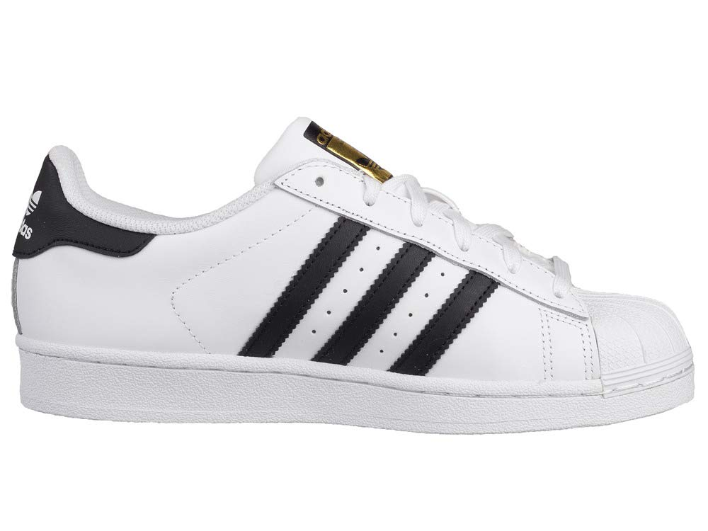 check out 70999 aaac5 ADIDAS SUPERSTAR CLASSIC SNEAKERS BIANCO-NERO S81858 - 46, BIANCO   Amazon.it  Libri
