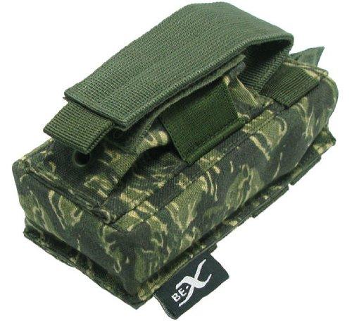 BE-X Kombi-Magazintasche für CQB, MOLLE, für je 1 G36 u. Pistolen Magazin - rooikat