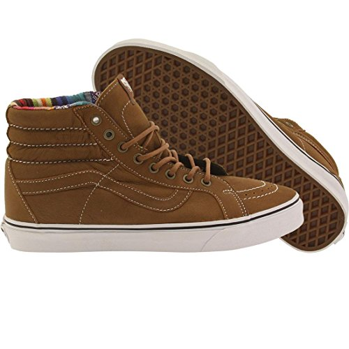 1ed9010f7c5 Vans Mens Leather Sk8-Hi Reissue Brown Guate Sneaker - 8 available ...