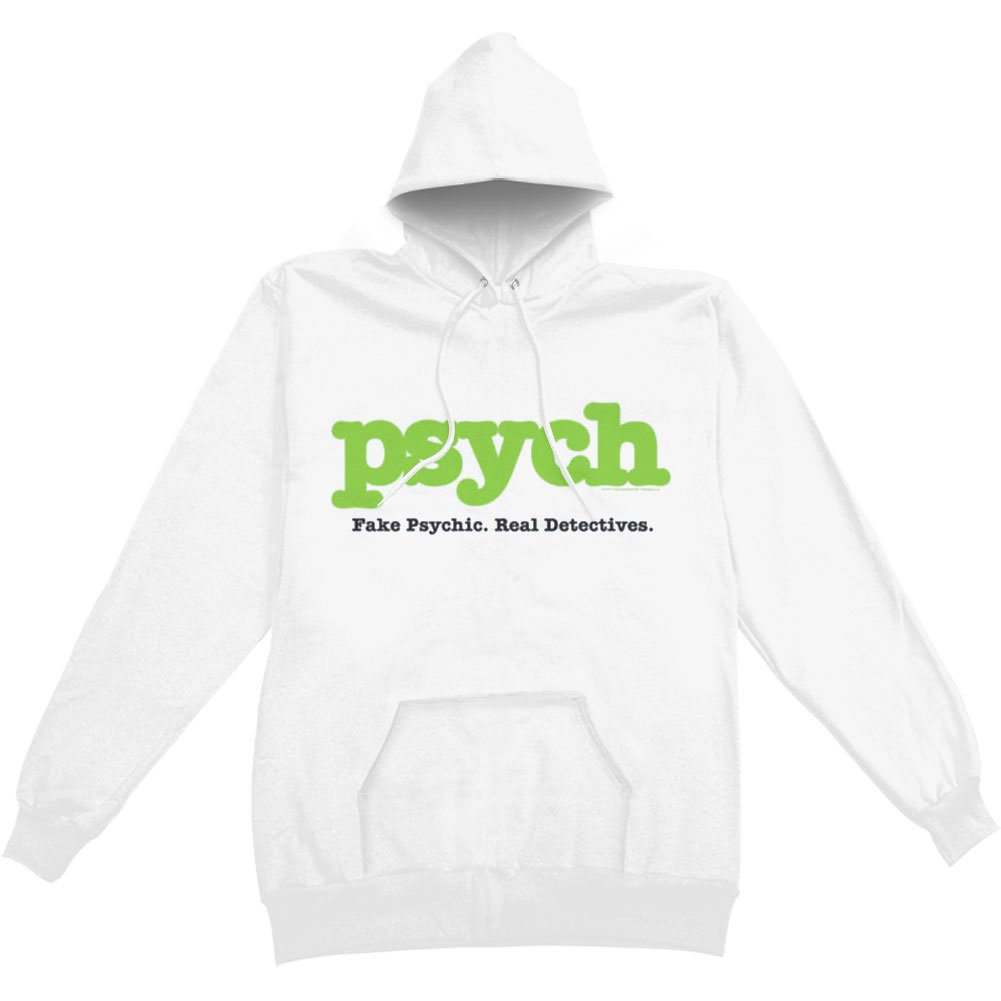 Hoodie: Psych- Psych Pullover Hoodie Size L Trevco