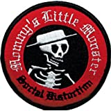 Application Social Distortion Skull Logo Patch