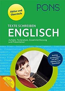 pons texte schreiben englisch aufsatz textanalyse zusammenfassung prsentation fr oberstufe und abitur - Zusammenfassung Franz Sisch