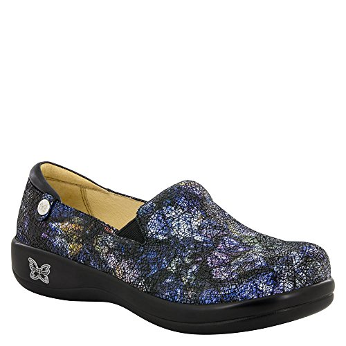 Alegria Women's Keli Professional Quarry Crackle Shoe (Crackle Footwear)