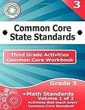 Third Grade Common Core Workbook: Math Activities, CoreCommonStandards.com, 1499148836