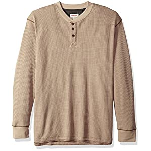 Wrangler Authentics Men's Long Sleeve Waffle Henley