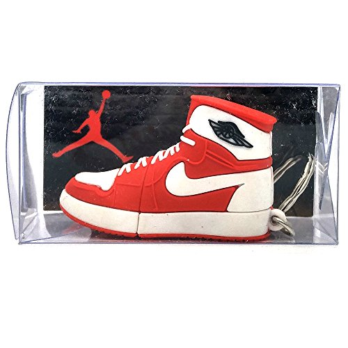 One Stop Discount Shop - Air Jordan 1 Retro Red/White USB Flash Drive - Flash Sunglasses Usb Drive