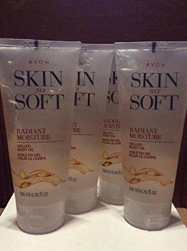 Skin So Soft Radiant Moisture Gelled Body Oil lot 4 pcs.