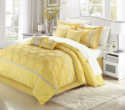 yellow quilts queen size - 7