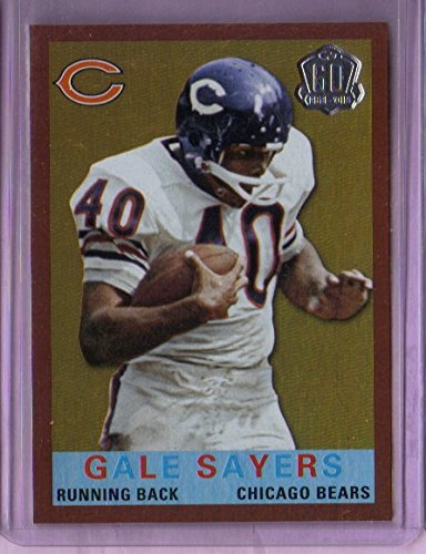 2015 Topps 60th Anniversary Throwbacks Red Foil #T60GS Gale Sayers - Chicago Bears
