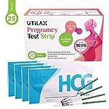 Pregnancy Test Strips in Bulk [25 Sets] Early Detection Urine Test Kit (HCG)