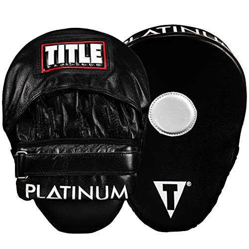 TITLE Platinum Punch Mitts Pair