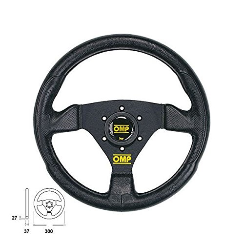 Omp OMPOD/1989/NN Steering Wheel, Black, Unique
