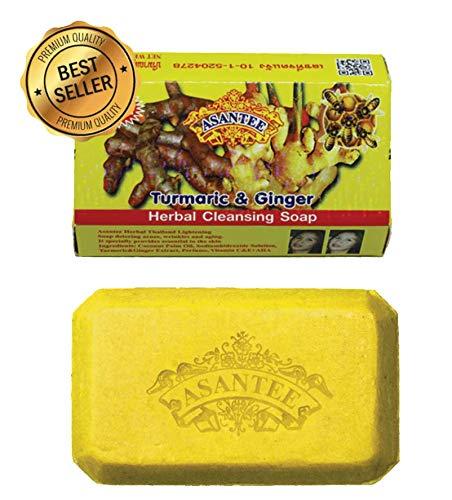 Asantee Tumeric & Ginger And Honey Herbal Cleansing Soap 125 g.