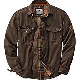 Legendary Whitetails Men's Journeyman Rugged Shirt Jacket Tobacco XX-Large