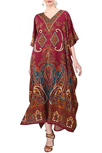 moroccan maxi dress - 9