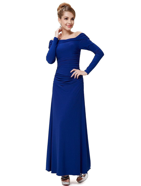Ever Pretty Elegant Scoop Neck Royal Maxi Party Evening Dress 08140