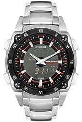 Seiko Men's SNJ019 Sportura Alarm Chronograph Watch