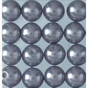 Perlas de Cera 3mm aprox. 300unidades humo azul