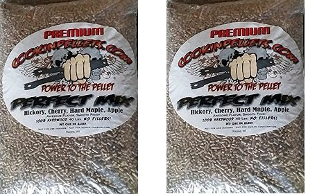 CookinPellets 40PM Perfect Mix Smoking Pellets (2-(Pack))