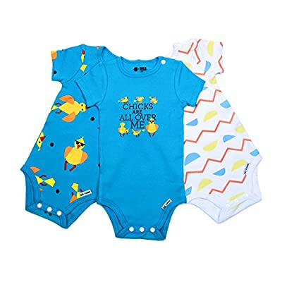 Bee Funny Baby Bodysuit 3 Pack | Chicks Are All Over Me