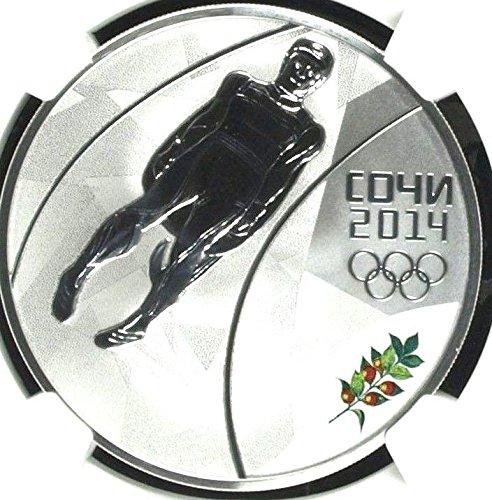 2014 RU 2014 2013 SP Russia Silver Colorized 3R Sochi Oly coin PF 69 Ultra Cameo NGC