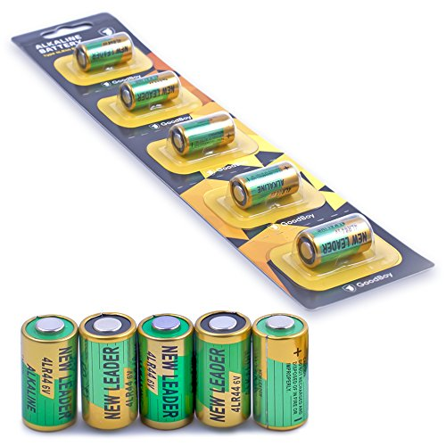 Battery Collar - Bark Collar Batteries by GoodBoy 5-Pack 6V Alkaline Battery 4LR44 (Also Known as PX28A, A544, K28A, V34PX)