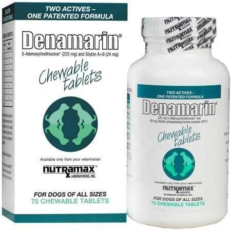 Nutramax Denamarin Chew Tab – Dogs All Sizes – 225 Mg