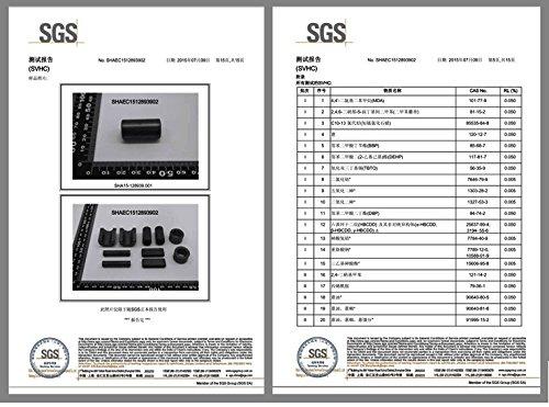 Wellcn 26 Pcs Ferrite Cores - EMI RFI Noise Filter Clip for 3mm/ 5mm/ 7mm/ 9mm/ 13mm Diameter-Black by Wellcn (Image #5)
