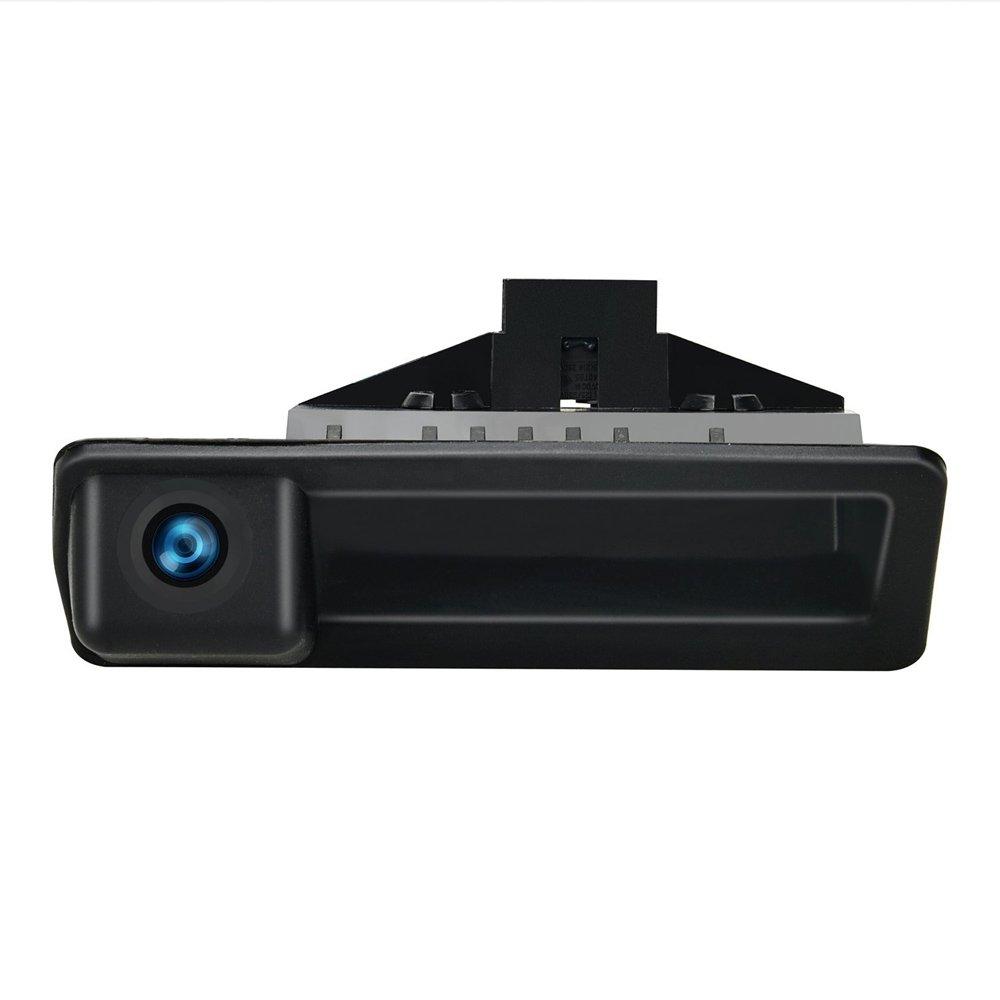 Dynavsal Griffleiste Kofferraumgriff Wasserdicht 170 /° umkehrbar fahrzeugspezifische Kamera in Koffergriff integriert R/ückfahrkamera f/ür BMW 5er X1 X3 E83 X5 X6 F10 F11 F25 F30 535Li 530i