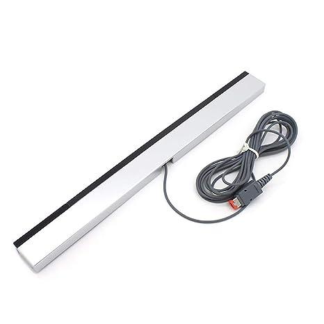 leegoal Barra de Sensor de Cable para Wii, sustitución por Cable infrarrojo IR Ray Sensor