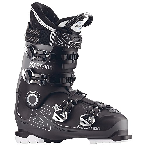 Salomon X-Pro 100 Ski Boots 2018 - 27.5/Black-Anthracite-Light Grey