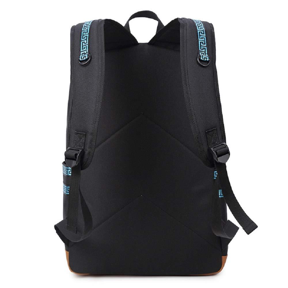 HhGold HhGold HhGold Oxford-Tuch Backpack wasserdichter Freizeit Schulrucksaecke Reisetaschen Laptop Rucksaeck Umhaengetasche Handtasche Schultasche Sporttaschen Backpack Tagesrucksack (Farbe   Blau) B07G5QYN6J Kinderruckscke Vielfalt f36931