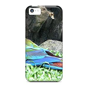 Premium Scarlet Macaw Covers Skin For Iphone 5c