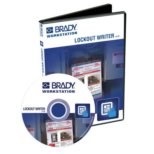 Brady BWRK-LOW-CD CD-ROM of Lockout Writer App for Brady Workstation Energy Source Labeling, Lockout Tag