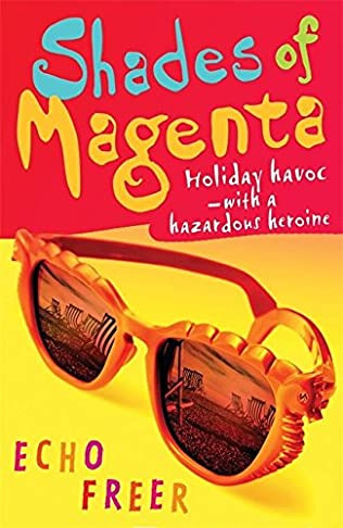book cover of Shades of Magenta