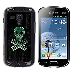 iKiki Tech / Estuche rígido - PC RAM pirata - Geek Tech - Samsung Galaxy S Duos S7562