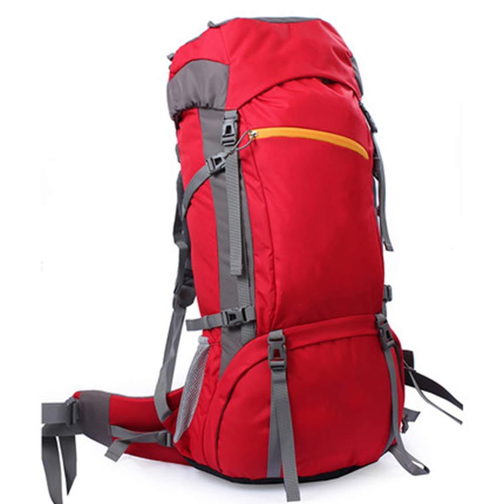 【新品本物】 60Lアウトドアスポーツハイキングバックパック、 ナイロン布、 男性と女性,Orange ロッククライミング/観光 B07QXKKYWF、 男性と女性,Orange Red B07QXKKYWF Red Red, お好み焼 風の街:5c6c009e --- granjalailusion.com.ar