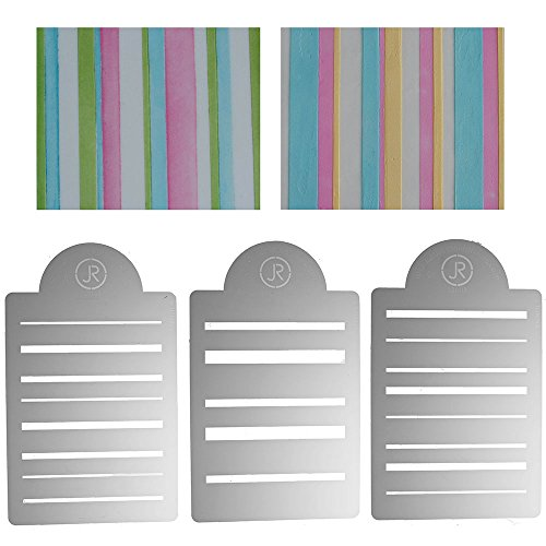 Sweet Elite Tools Multi-layer Stencil Set- Bayadere Stripes - By James  Rosselle